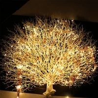 100led waterfall vine tree string lights solar power fairy lights for tree holiday christmas gazebo backdrops garland decoration
