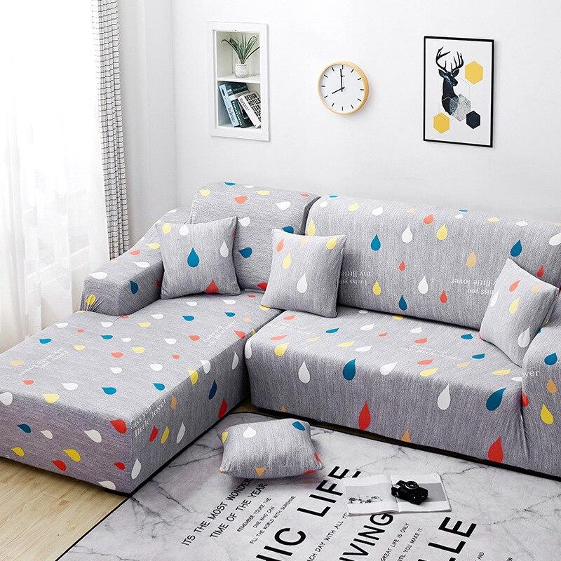 هندسية الشمال L-شكل غطاء أريكة غطاء أريكة تمتد لغرفة المعيشة أريكة منشفة غطاء أريكة صالة تشيس الاقسام الغلاف