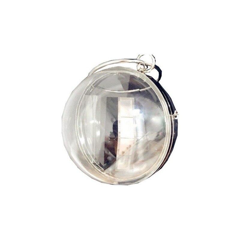 حقيبة يد نسائية شفافة ، حقيبة تحمل علامة تجارية عصرية ، حقيبة صغيرة سلسلة مستوحاة من المشاهير