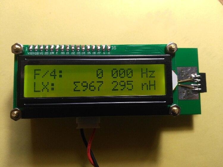 Medidor de inductancia de bobina hueca de alta frecuencia