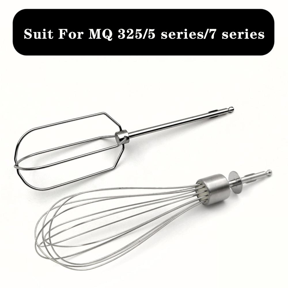 Mezclador batidor de huevo a apto para braun MQ325 MQ335 MQ505 MQ525 MQ545 MQ705 MQ725 MQ735 MQ745 MQ775 MQ787 MQ530 MQ535 MQ5025