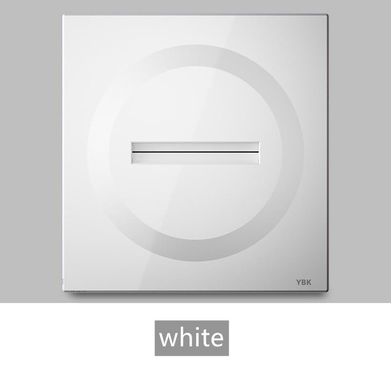 وحدة التبديل منفذ ل Moverable مأخذ توصيل محول أسود أبيض رمادي Q