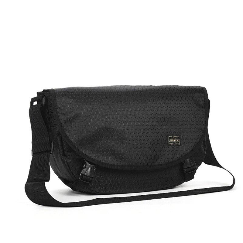 Сумки Porter, японские Роскошные Брендовые мужские сумки, женская сумка через плечо, нейлоновая сумка-мессенджер, мужские кошельки и сумочки