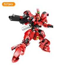 Super Robot War Gundam Model Gundam SAZABI Assemble Figures Bricks Building Blocks Collection Toys For Children Gift