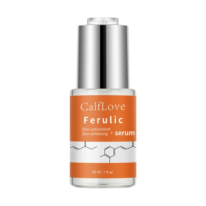 30ml Ferulic Acid Repair Wrinkles Firming Skin Protector Moisturizing Essence Anti-Aging Anti-Oxidant Essence Skin Care недорого