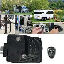 Rv Remote Lock Camper Caravan Trailer Entry Deurvergrendeling Klink Knop Deadbolt U1JF