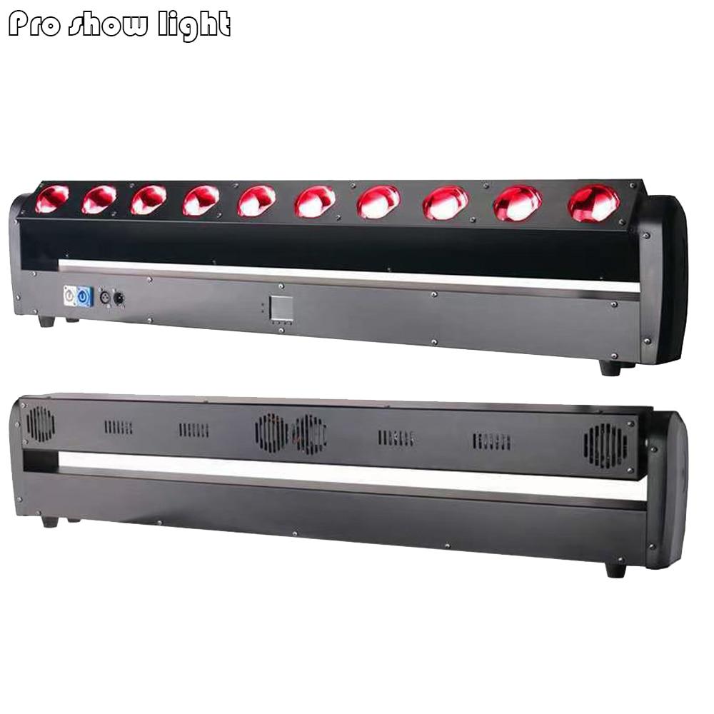 Вращающаяся Светодиодная лампа Lyre Beam Dj 10 х40 Вт RGBW DMX сценическое освещение вращающаяся диско-лампа эффект хорошо подходит для рождества све...
