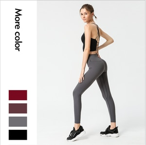 Women Sport Suit Seamless Yoga Set Workout Crop Top Leggings 2 Piece Set Fitness Clothing for Women Gym Clothing