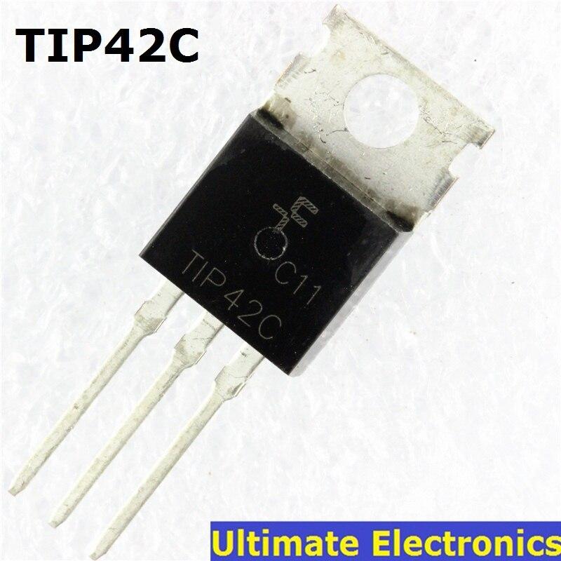10pcs  TIP42C TIP42 PNP Transistor TO-220 NEW