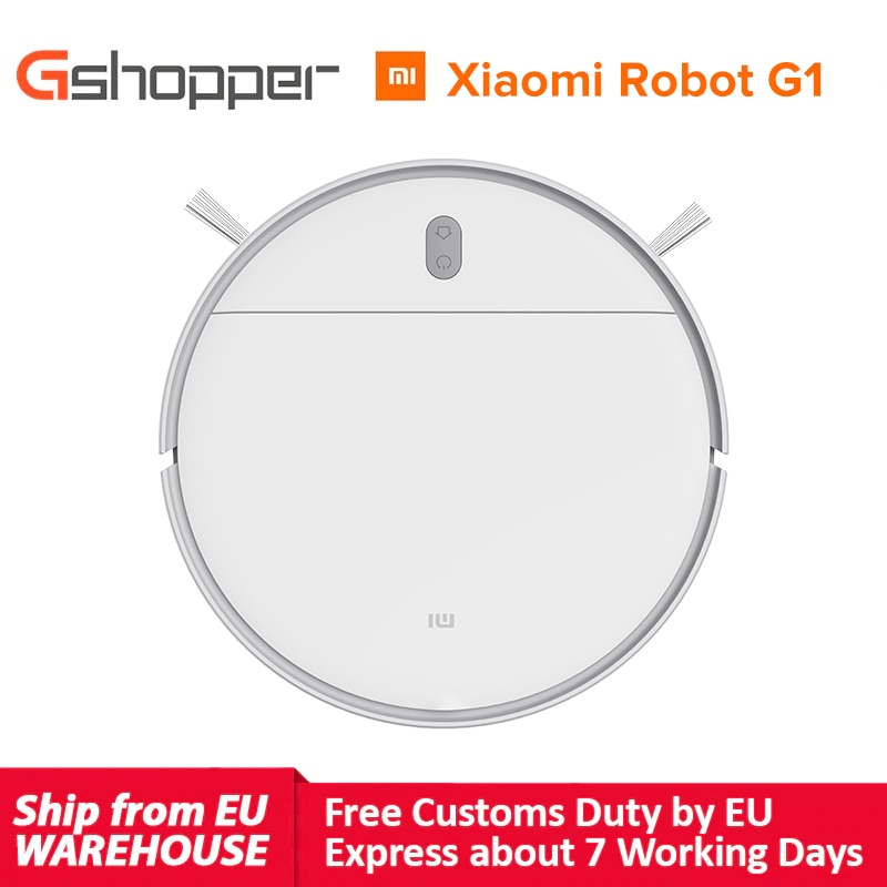 XIAOMI Vacuum Cleaner G1 Global Version MIJIA Robot for Home Wet Mopping Auto Sweeping Dust Smart Planned cyclone Suction Mop