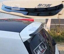 ABS plastique brillant couleur noire aileron de toit arrière aile de coffre pour Volkswagen Golf MK7 MK7.5 Spoiler 2014 2015 2016 2017 2018