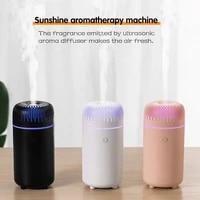 100ml essential oil aroma diffuser purifier mute ultrasonic air humidifier mist maker portable car air humidifier night light