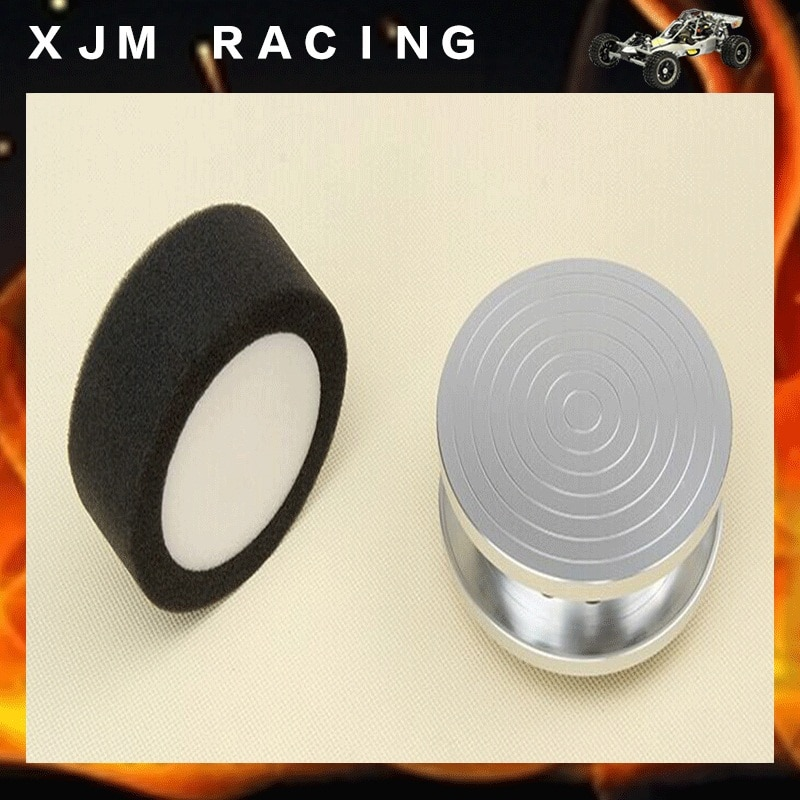 CNC Metal Air Filter Including Air Filter Sponge for 1/5 ROVAN LT Losi 5ive-T KINGMOTOR X2 DDT FID RACING TRUCK RC CAR Parts