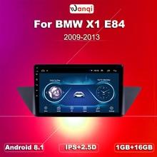Android 8.1/voiture navigation GPS   Pour 2009-2013 BMW X1 E84 radio 9 pouces HD 1024*600 prise en charge dautoradio Wifi