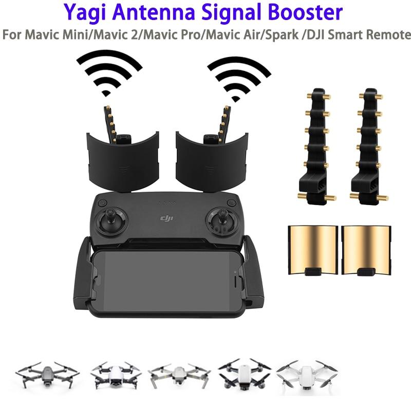 Усилитель антенны Yagi усилитель сигнала для DJI Mavic Mini Air Spark 2 Pro Zoom FIMI X8 SE 2020 пульт дистанционного управления расширитель диапазона