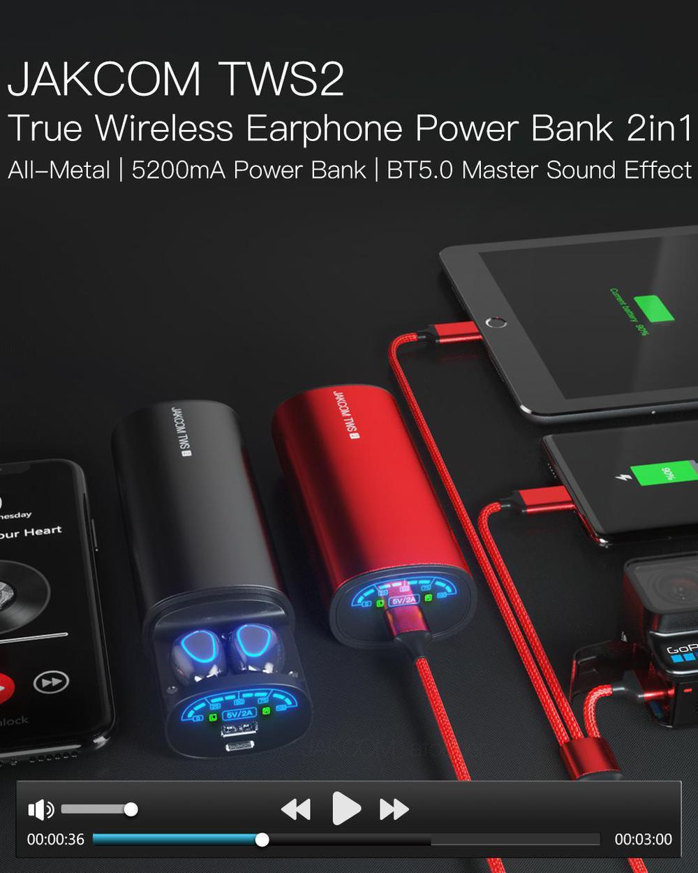 2 cuffie luxo gadget power bank