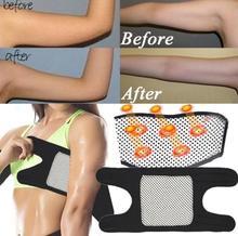 Tourmaline auto-chauffant bras coude orthèse ceinture de soutien thérapie magnétique soulagement de la douleur minceur perte de poids sangle graisse brûleur ceinture