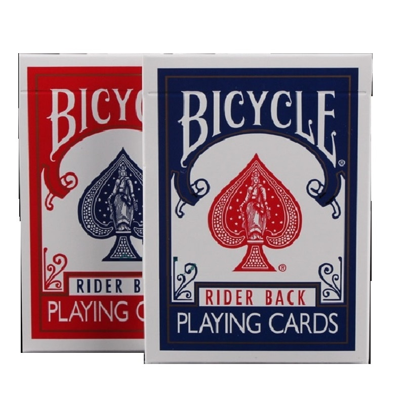 2pcs/Set Bicycle Rider Back Playing Cards Deck  808 Sealed Poker USPCC Magic Card Games Magic Tricks Props for Magician bicycle skull playing cards new poker cards for magician collection card game