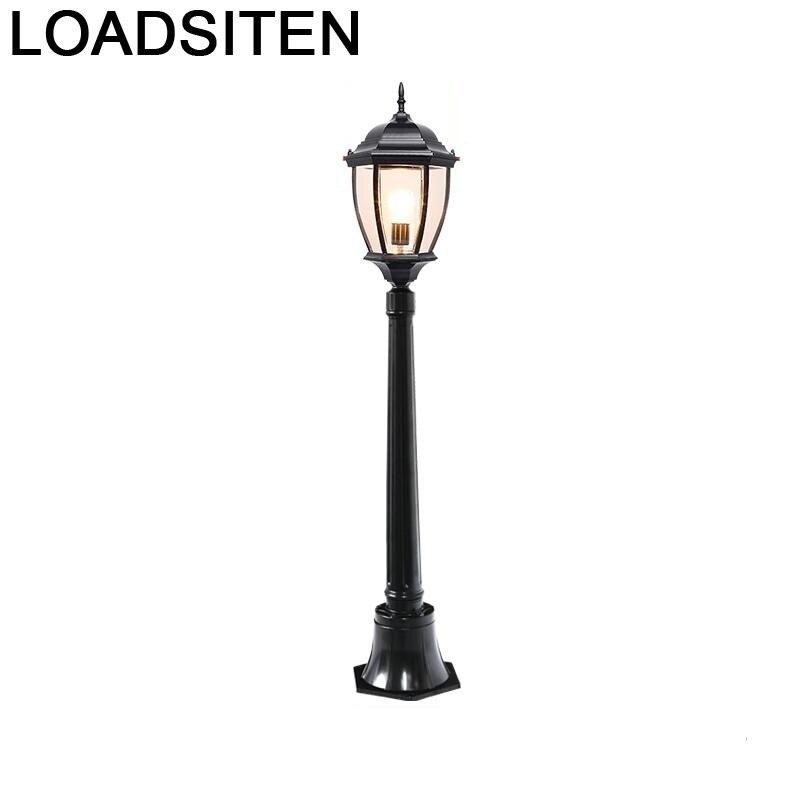 Lámpara de iluminación LED para jardín Exterior, Luz Exterior para decoración de...