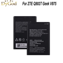 Batería de repuesto de teléfono Li3928T44P4h735350 para ZTE Q802T Geek V975 V976 U988S N986 N976 2800mAh batería de respaldo de teléfono móvil AKKU