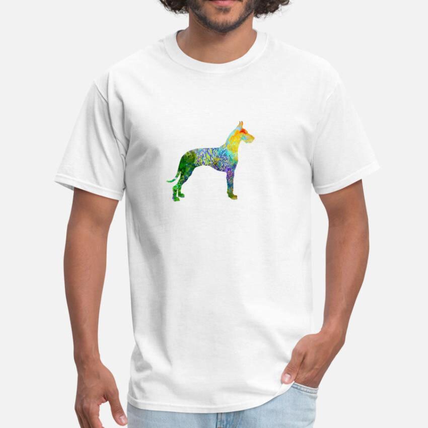 Great Dane T Shirt Great Dane Dane Great Art Watercolor German Dog Dog Super Apprentice Copenhagen