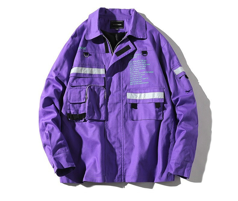 Chaqueta de otoño 2020 para hombre... chaquetas rompevientos con cremallera de abrigo...
