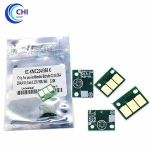 40PCS Drum Unit Chip Bizhub C284e Drum Chip Image Unit Reset Chip for Konica Minolta Bizhub C224e C364e C454e 224e 284e 364e