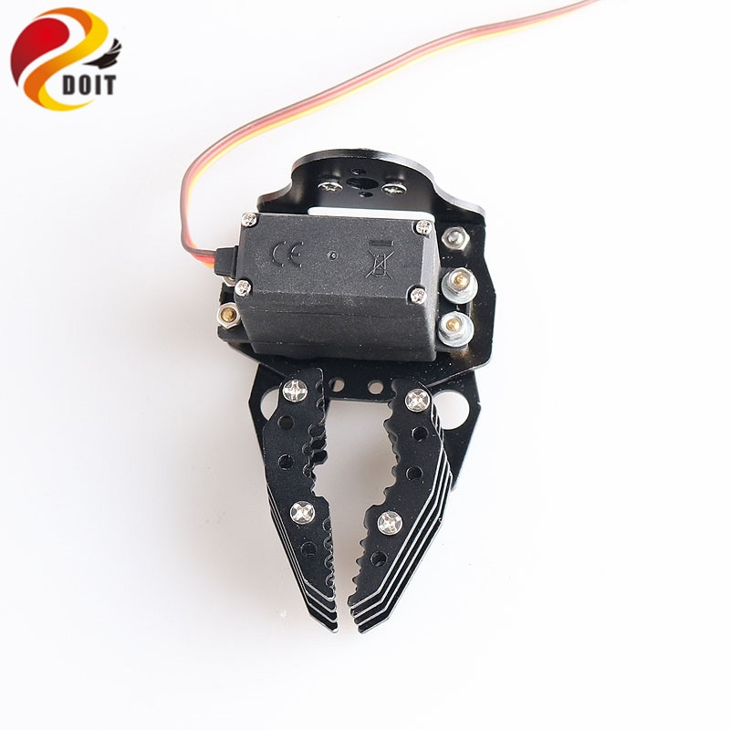 SZDOIT G6 Metal Robot Arm Gripper Mechanical Claw/Clamp With High Torque Servo RC Robotic Part Ecuca