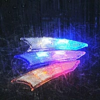 1pcs bicycle spokesdecorative lights hub lightsreflective spokessafety warning lightsbicycle accessories cycling equipment