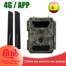 Willfine 4.0CG 4G APP control Hunting Cameras 0.4 s trigger speed Wildlife Trap Cameras 20M Range 4G APP scouting Trail Cameras