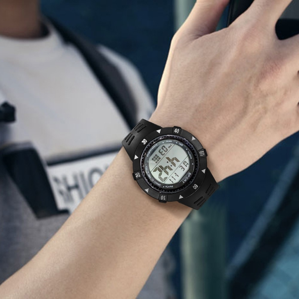 High-End Multi-Function 30M Sports Waterproof Electronic Watch relogio masculino curren watch men часы мужские Reloj Hombre