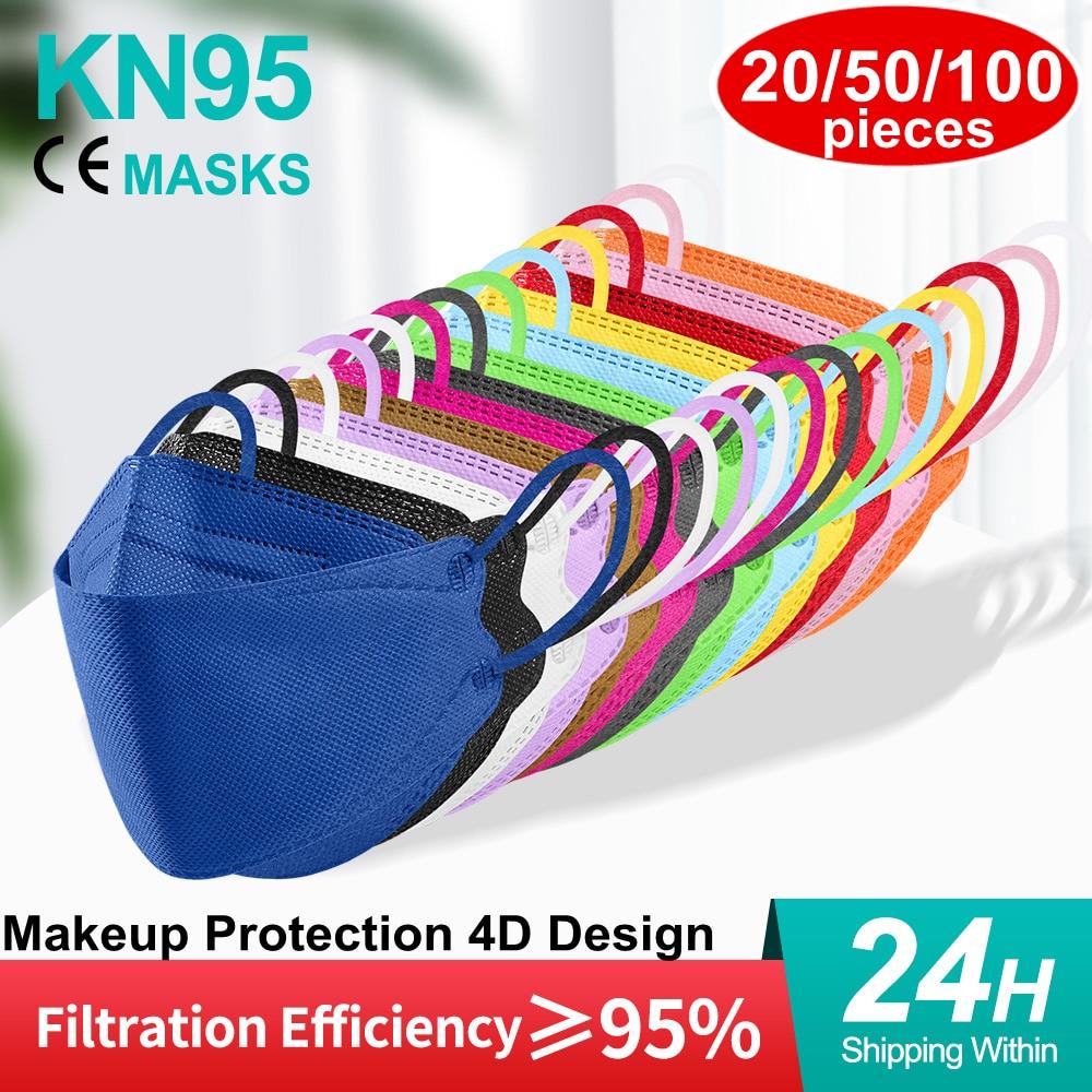 Mascarilla kn95 ffp2mascarilla ce, máscara de belleza a la moda ffpp2, protección...