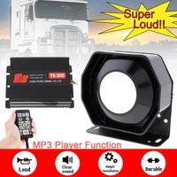 12v 200w 18 tone loud car warning alarm siren horn pa speaker with mic microphone system and remote control for cars vehicle