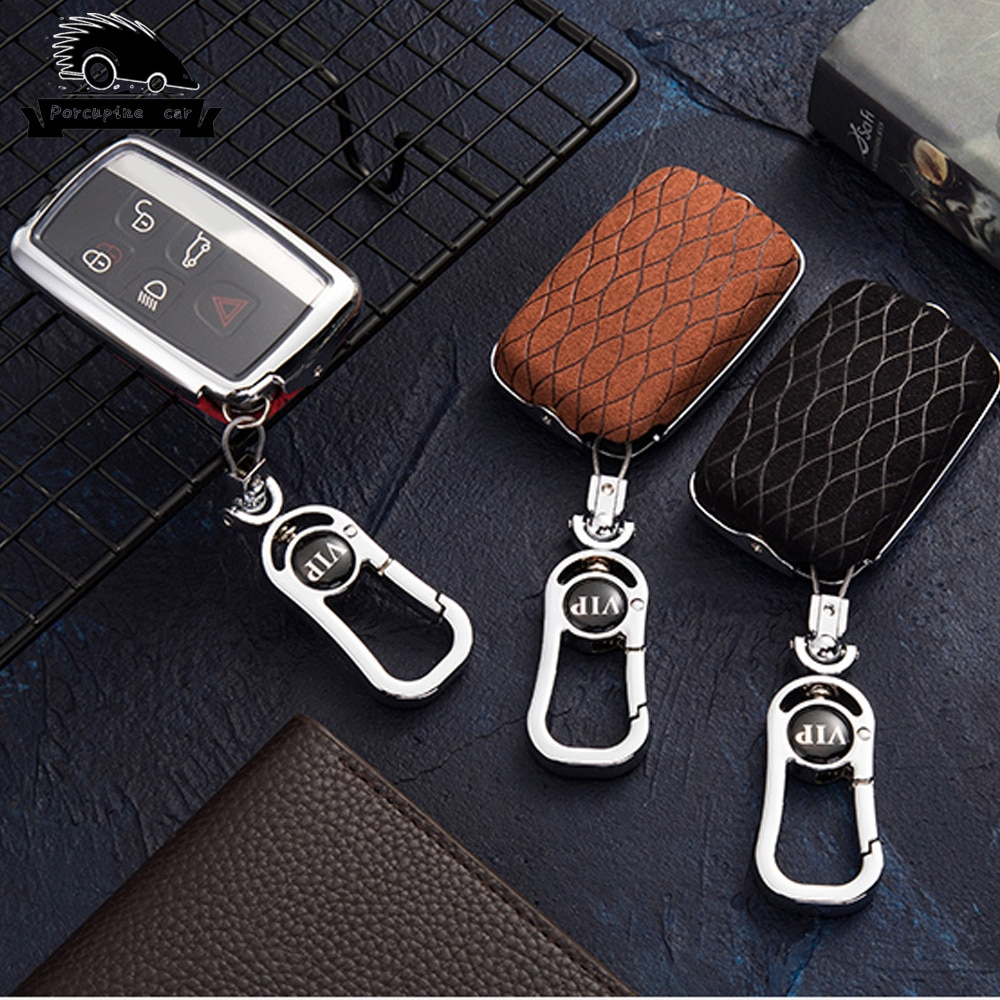 Чехол для автомобильного ключа из цинкового сплава для Land Rover A9 Range Rover Sport 4Evoque Freelander 2 Discovery для Jaguar XE XJ XJL XF C-X16
