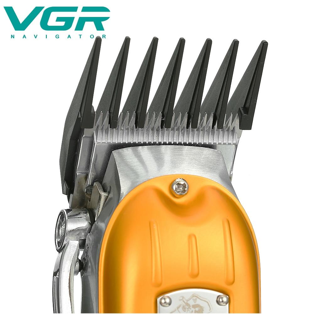 V-092 Electric Hair Clipper All Metal Hair Clipper High Power Lithium Battery Oil Tip Clipper enlarge