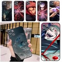 jujutsu kaisen yuji itadori sukuna satoru gojo fushiguro megumi phone case for iphone 12 pro max mini se 2020 coque back cover