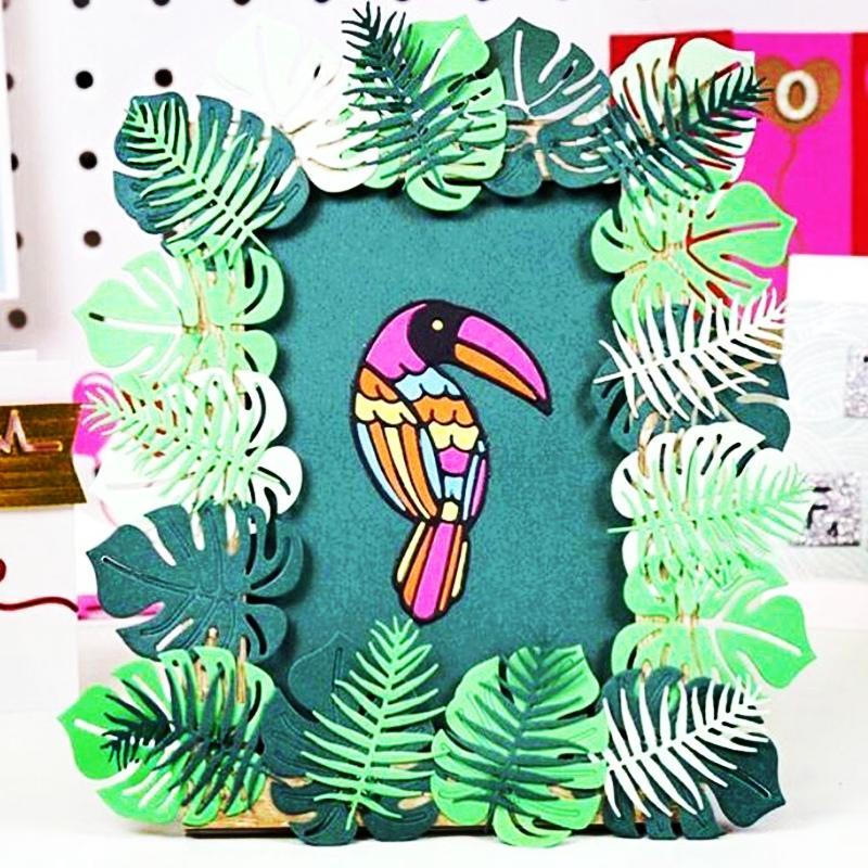 KSCRAFT Parrot Metal Cutting Dies Stencils for DIY Scrapbooking/photo album Decorative Embossing DIY Paper Cards