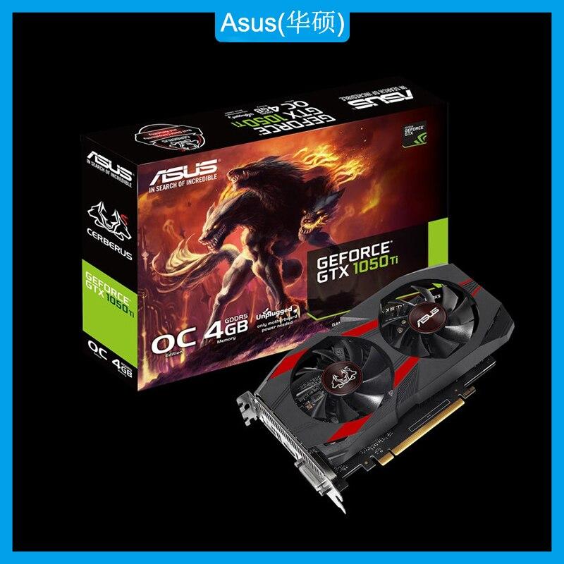 Asus CERBERUS-GTX1050TI-O4G Grafische Kaart Nvidia Geforce Gtx 1050 Ti 4Gb Oc Edition GDDR5 Gaming Videokaart