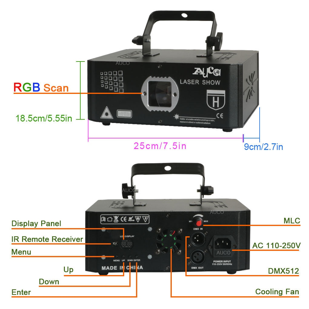 3D иллюзия анимация 500 мВт DMX512 проектор RGB лазер музыка сканер свет проектор дискотека вечеринка сцена эффект освещение 10 IN 1