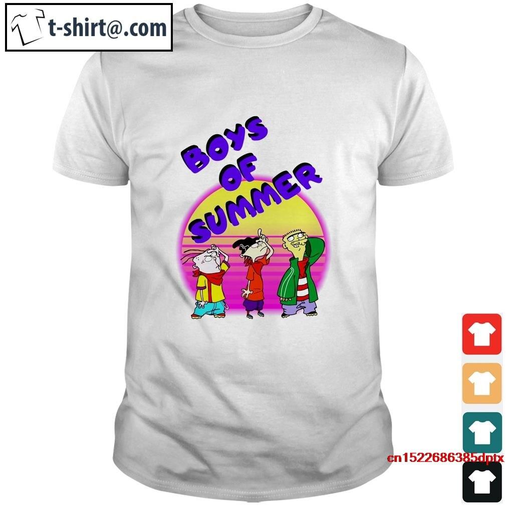 Camiseta de hombre caliente Ed Edd y Eddy camisa de verano para niños camisa de mujer