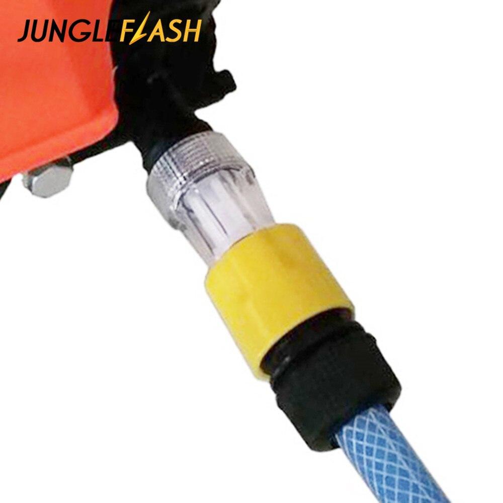 JUNGLEFLASH myjka do samochodu Adapter do myjka ciśnieniowa złącza wody filtr do szybkiego łączenia rura węża ogrodowego montażu