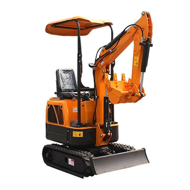 Mini excavadora pequeña HT10 con todos los accesorios