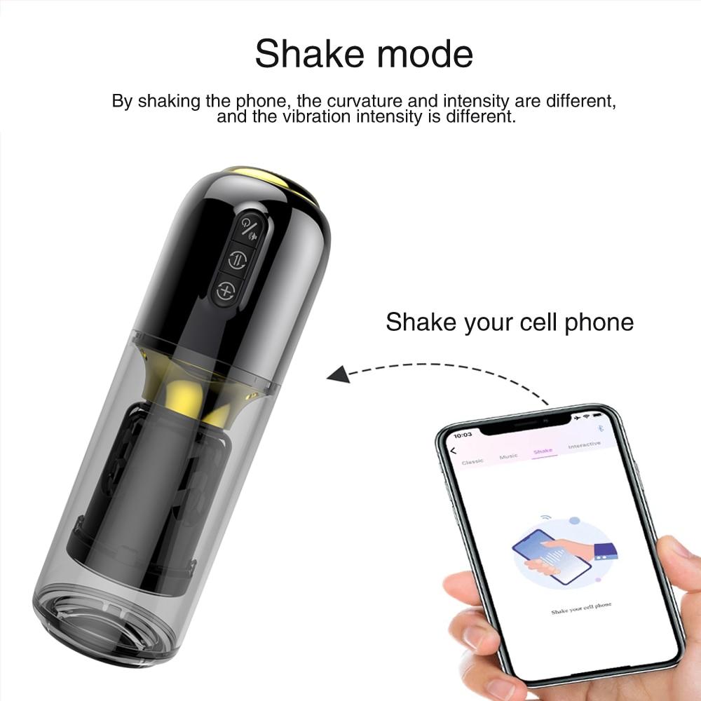 App Remote Masturbator shake mode