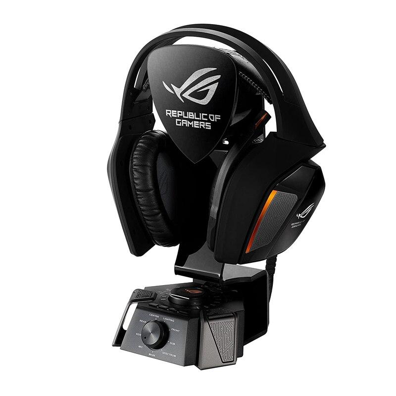 Headset com Microfone Amplificador de Auscultadores de Alta Digital de 10 Asus Centurion Ture Surround Gaming Drivers Discretos Qualidade Rog 7.1
