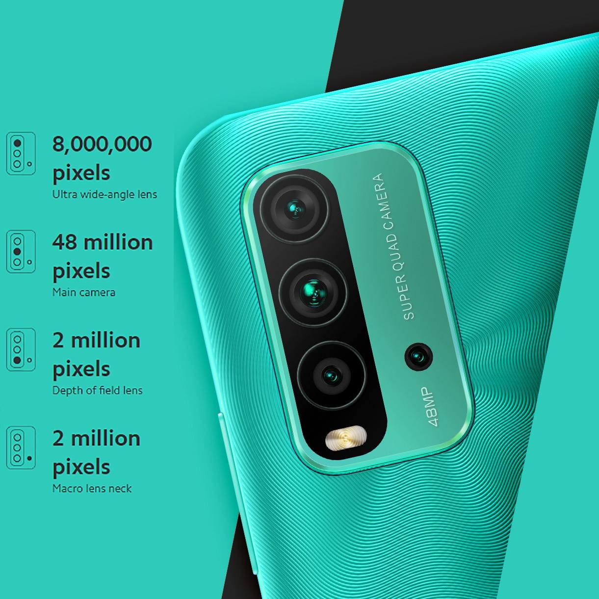 Global Version Xiaomi Redmi 9T 4GB 64GB Smartphone Snapdragon 662 Octa-Core 6.53''FHD Display 48MP 4 Cameras 6000mAh Battery enlarge