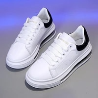 chunky sneakers women casual shoes new spring 2021 fashion white sneakers for women solid comfortable ladies shoe red