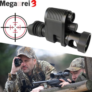 Megaorei 3 Night Vision Riflescope Optics Sight Tactical Camera NV007 Hunting Spotting Scopes 850nm Infrared Laser IR with VCR