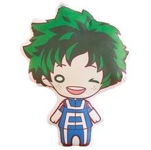 Anime mon héros académique peluche oreiller Midoriya Izuku Katsuki chouto URARAKA Boku pas de héros Akademia modèle poupée impression jouets