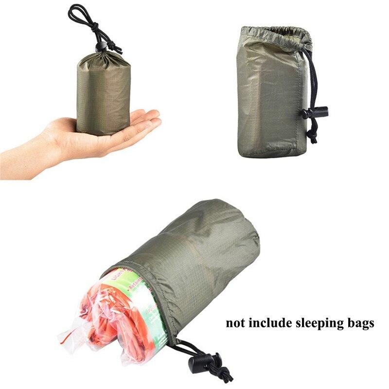 Nuevo saco de dormir de almacenamiento organizador de bolsas de Camping senderismo Backpacking bolsa portátil para dormir mal almacenamiento bolsa de transporte para viaje