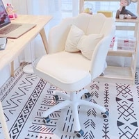 chair girls cute bedroom dormitory computer chair comfortable rotating lifting backrest desk chair makeup stool writing chair